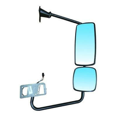 Chrome Freightliner Columbia Heated Power Mirror Right Side (Manual Auxiliary)