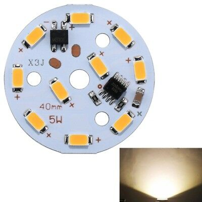 Dalle LED blanc 5W 10 LEDs SMD 5730 3000K Dimmable Module Lampe Ampoule - 149039