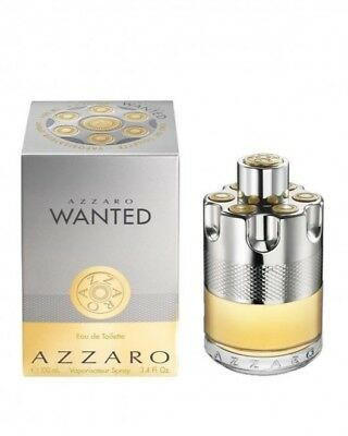 AZZARO WANTED cologne edt 3.4 oz 100 ml NEW IN BOX