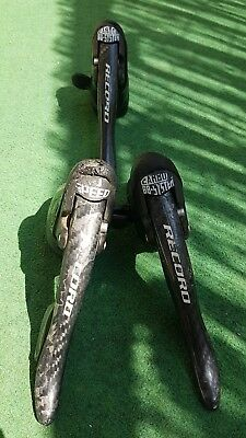 Campagnolo record ergopowers 10 speed carbon