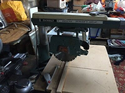 Dewalt DW720 Radial Arm Saw, 240v Collection Only