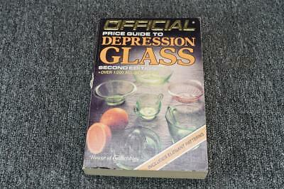 Official Price Guide to Depression Glass by The House of Collectibles, C. 1986