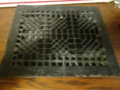 Vintage cast iron heat register. floor vent