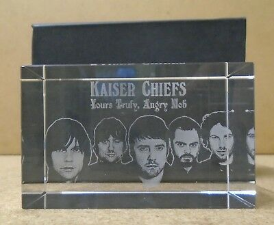 KAISER CHIEFS Yours Truly, Angry Mob 2007 UK promo only paperweight