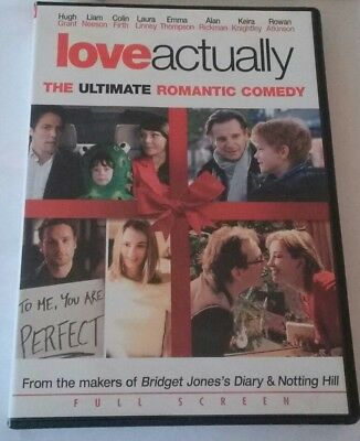 Love Actually( Full Screen DVD)2003 Romantic Comedy. Hugh Grant, Colin Firth