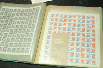 Sheets of Vintage Canadian Stamps - $160 Face Value in Total