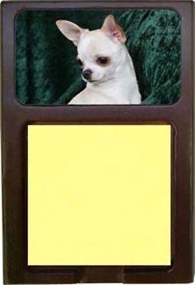 Chihuahua Wood Sticky Note Holder