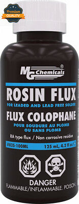 MG Chemicals Liquid Rosin Flux, Non Corrosive and Conductive residue, 125 ml...