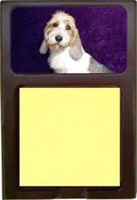 Petit Basset Griffon Vendeen Wood Sticky Note Holder
