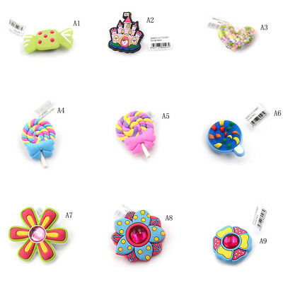 Elegant Resin Shoe Charms Accessories Fit Bands Shoe Charms Shoe Buckles STDE