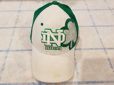 Vintage Notre Dame Fighting Irish Top of the World S/M Fitted Hat Throwback 90's