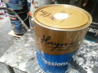 Haymes 10 Litre Expresions Interior Low/sheen Cream Color Paint