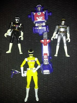 Power Rangers legacy in space yellow ranger. 90s black and silver in space...