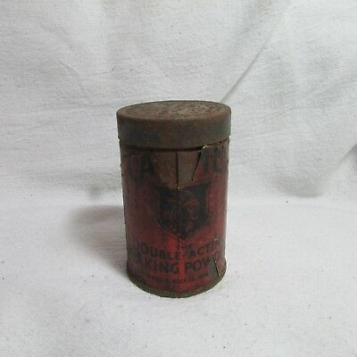 Vintage Small Calumet Baking Power Tin with Lid, Advertising Collectible