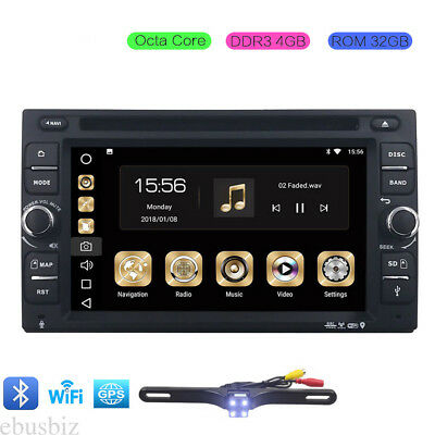 2Din Android 8.0 Car DVD Player GPS WIFI DAB+ Radio Touch SWC Bluetooth 4+32GB