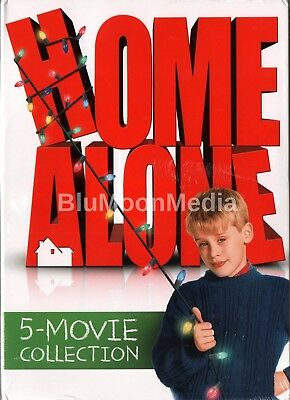 Home Alone Complete 5 Movie Collection DVD 1-5 Set 1 2 3 4 5 Macaulay Culkin NEW