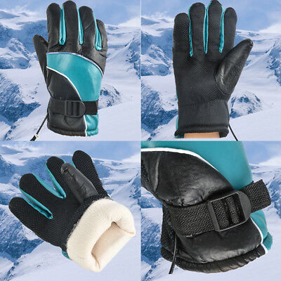 Unisex DC 12V Electric Heated Gloves Winter Hands Warming Mitten Fishing Hunting