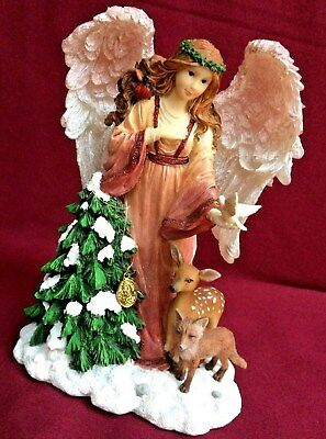 "Boyds Charming Angel ""Noella- Guardian Angel Of Holiday Spirit""  Enesco. 2011"
