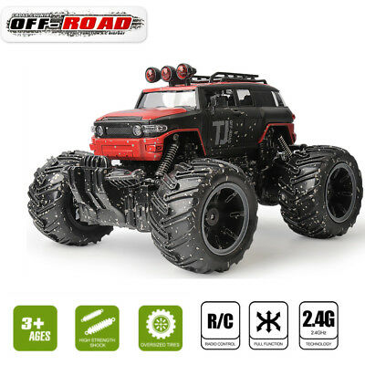 1/16 2.4G Off-Road RC Monster Truck Fast Speed Car RTR Electric Remote Control