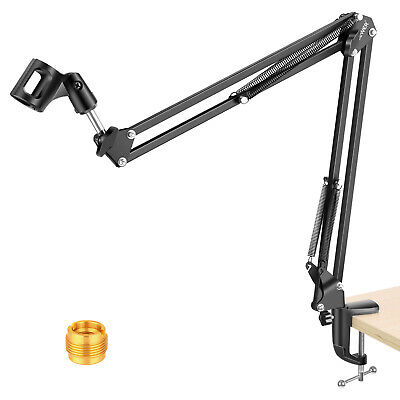 "Neewer Table Mount Clap Microphone Suspension Boom Scissor Arm Stand 31.5""/80cm"