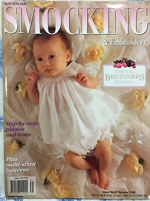 Australian Smocking and Embroidery Magazine Issue 31 - Special Edition