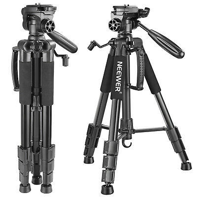 Neewer Portable Aluminum Alloy Camera Tripod for Canon Nikon Sony DSLR Camera