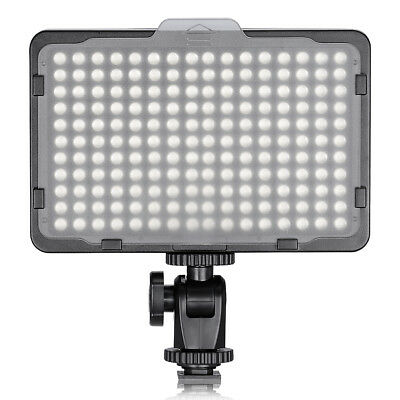 Neewer Photo Studio 176 LED Dimmable on Camera Video Light for Canon Nikon DSLR