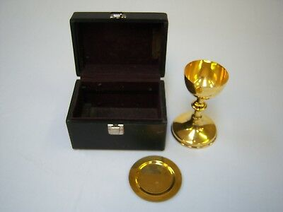 Travel Chalice and Paten with Box