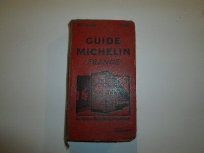 Ancien Guide Michelin France 1930