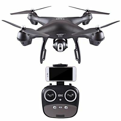 4 Axes S70W Full HD 1080P Dual GPS-2.4GHz WiFi/FPV Drone Quad Copter Aircraft Y