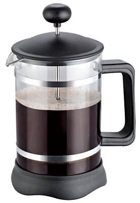34oz French Press Coffee Maker Chrome Black Stainless Steel by Utopia Kitchen