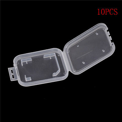 10pcs Memory Card Storage Case Mini SD Card Store Box Protector Holder Case Pip.