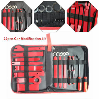 Car Auto Radio Door Clip Panel Trim Dash Audio Removal Pry Accessories Tool Kit