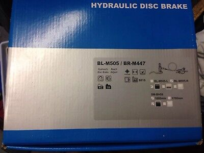 Shimano BR-447 / BL-505 Front Hydraulic Disc Brake