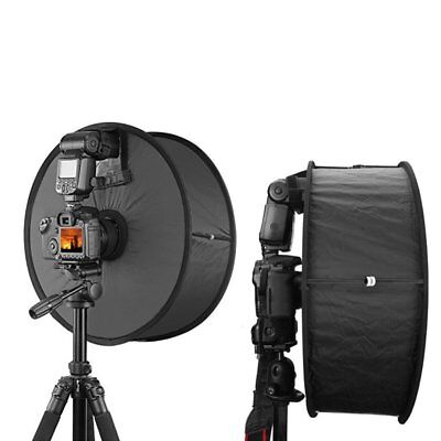 450mm Round Ring Speedlite Flash Softbox Diffuser Reflector For Photography G2Q8