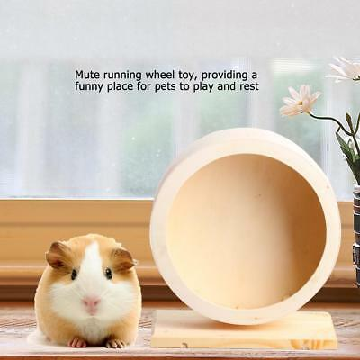 New Multi Animal Toys Pet Hamster Nest Wood House Funny Wheel Small Cage Toy