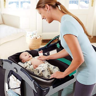 Graco Pack 'n Play Reversible Napper and Changer Crib Baby Mattress 3DAYSHIP