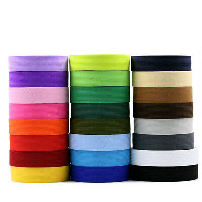 2cm Flat Elastic Bands Stretch Waistband Thick Rubber Band Crafts Sewing Costume