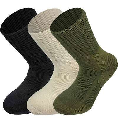 Highlander Norwegian Army Military Wool Socks Fast Drying Thick Winter Warm