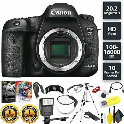 Canon EOS 7D Mark II DSLR Camera (Body) Base Combo