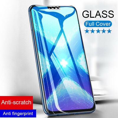 Full Cover Tempered Glass Screen Protector For Huawei Mate 20 P20 Lite Honor 8X