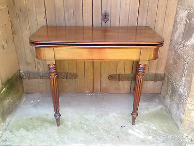 fine quality GILLOWS style early / mid 19th century mahogany card / games table