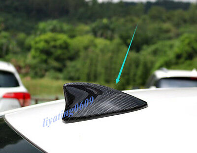 Carbon Fiber Car Roof Shark Fin Antenna Cover Fit For LEXUS IS250//350//200T 14-18