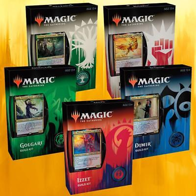 Guilds of Ravnica Guild Kits Decks OVP Sealed - En/De