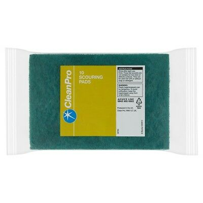 Clean Pro 10 Scouring Pads   | 32 x 10pk