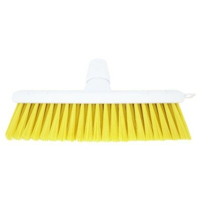 White Broom Soft Yellow Fill 12in   | 6 x Sgl