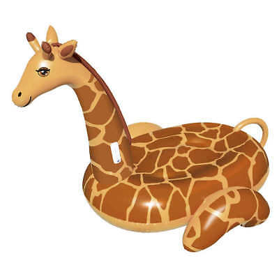 Blue Wave Giant Giraffe 243.8-cm (96-in.) Inflatable Ride-on Pool Float