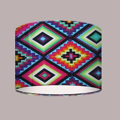 Bright Colourful Ojo Dios Aztec Lampshade Ceiling Shade Alexander Henry