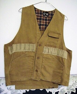 Bullseye Bill Upland Game Hunting Shotgun Vest Water Repellent - size small