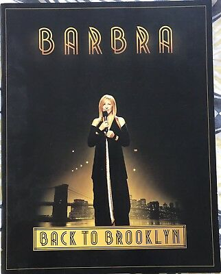 Barbra Streisand * Live / Back To Brooklyn U.k. Tour Programme